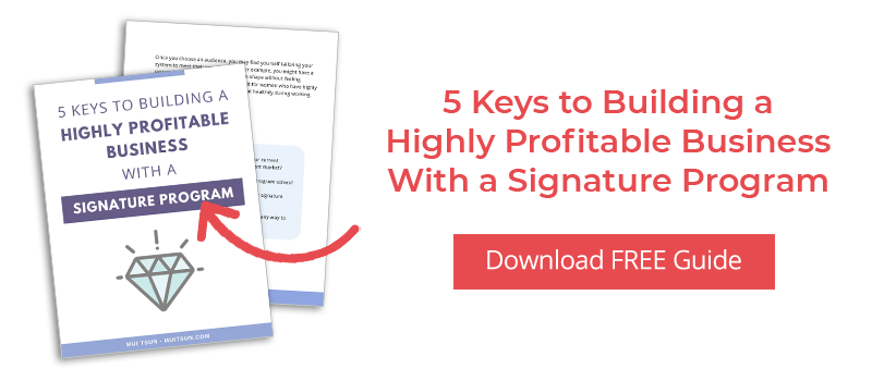 5 Keys to Creating Your Signature Program
