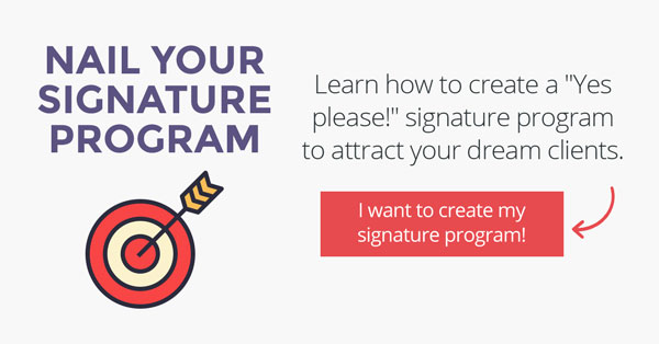 Nail Your Signature Program